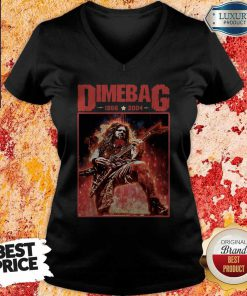 Top Dimebag 1966 And 2004 V- neck