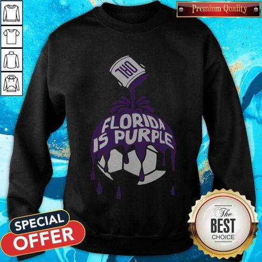 Top Florida Is Purple weatshirt