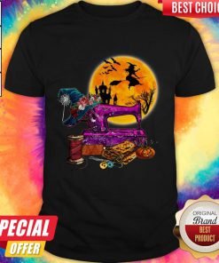 Top Halloween Sewing Shirt