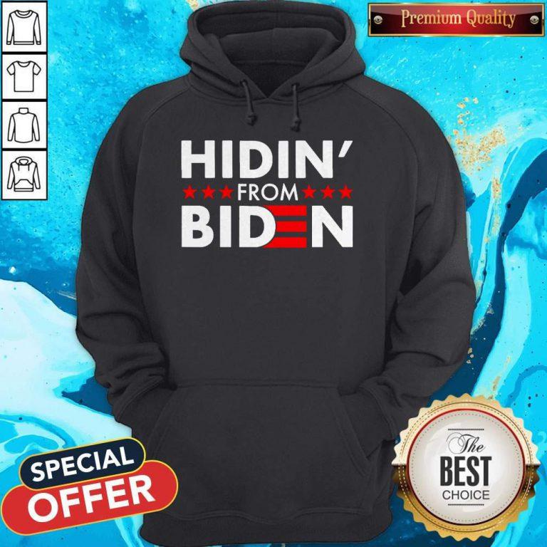 Top Hidin' From Biden 2020 Vote Hoodie