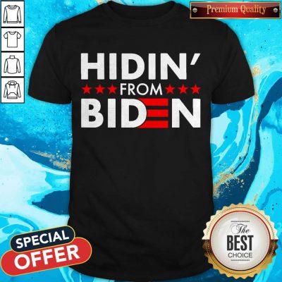 Top Hidin' From Biden 2020 Vote Shirt