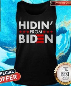Top Hidin' From Biden 2020 Vote Tank Top