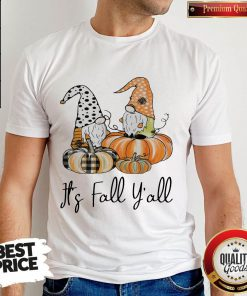 Top It's Fall Y'all Shirt