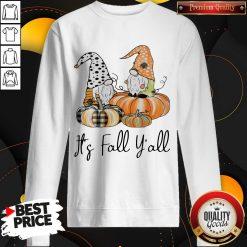 Top It's Fall Y'all weatshirt