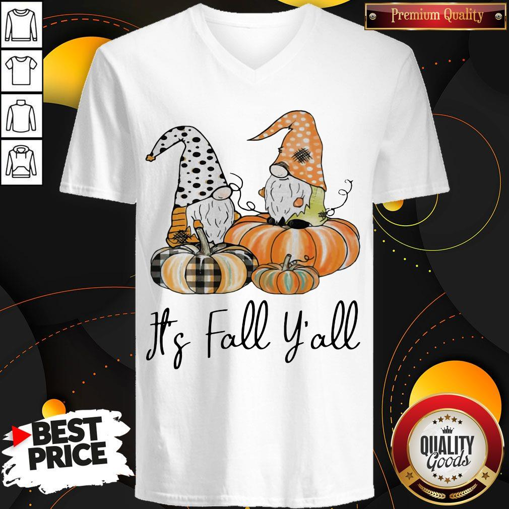 Top It's Fall Y'all V- neck