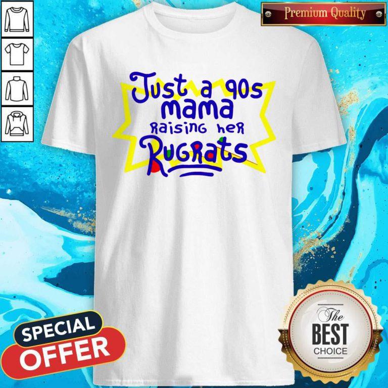 Top Just A 90s Mama Shirt