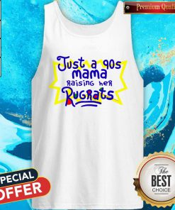Top Just A 90s Mama Tank Top