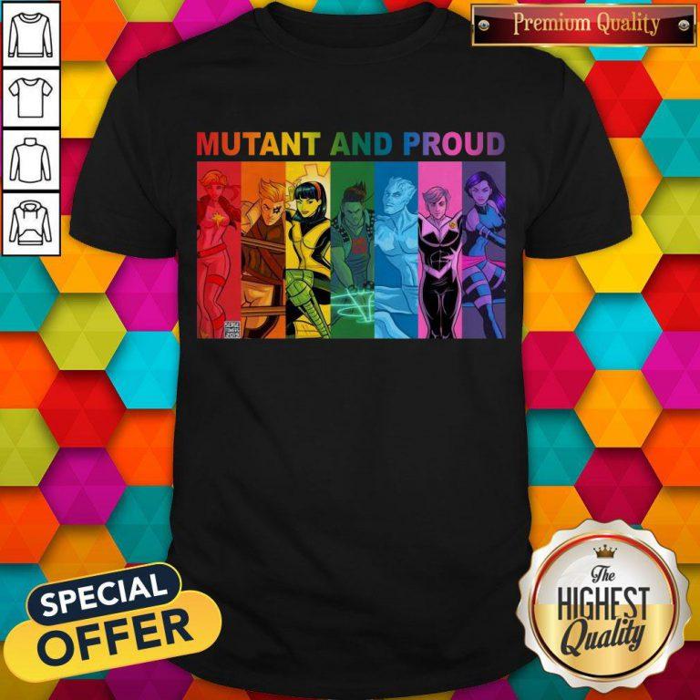 Top Lgbt Mutant And Proud Pin On Xmen Shirt