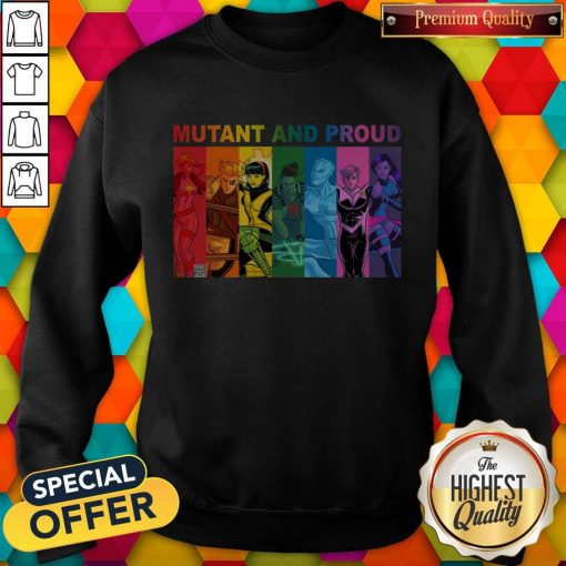 Top Lgbt Mutant And Proud Pin On Xmen weatshirt