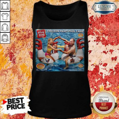 Trump And Vladimir Putin Play Day Chicken Fight Pool Game Tank Top