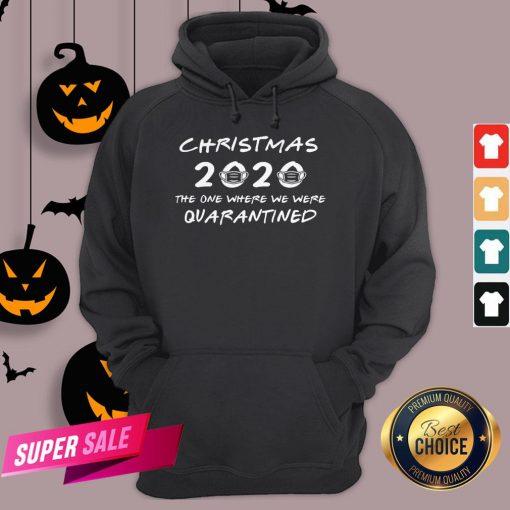 2020 Christmas Covid Quarantine Hooodie