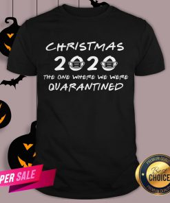 2020 Christmas Covid Quarantine Shirt