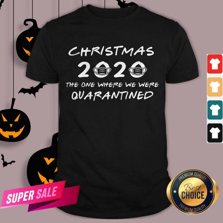 2020 Christmas Covid Quarantine Shirt