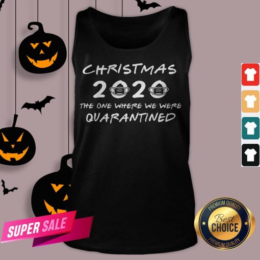 2020 Christmas Covid Quarantine Tank Top