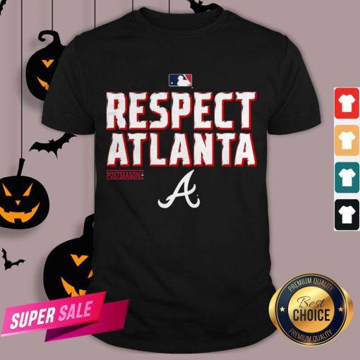Atlanta Braves Fanatics Branded Navy 2020 Postseason Locker Room Shirt
