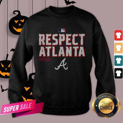 Atlanta Braves Fanatics Branded Navy 2020 Postseason Locker Room Sweatshirt