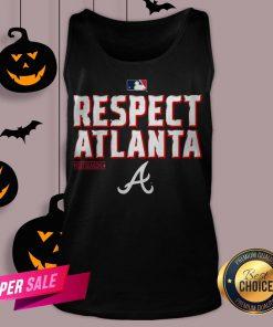 Atlanta Braves Fanatics Branded Navy 2020 Postseason Locker Room Tank Top