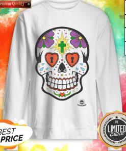 Calavera Sugar Skulls Day Of The Dead Sweatrshirt