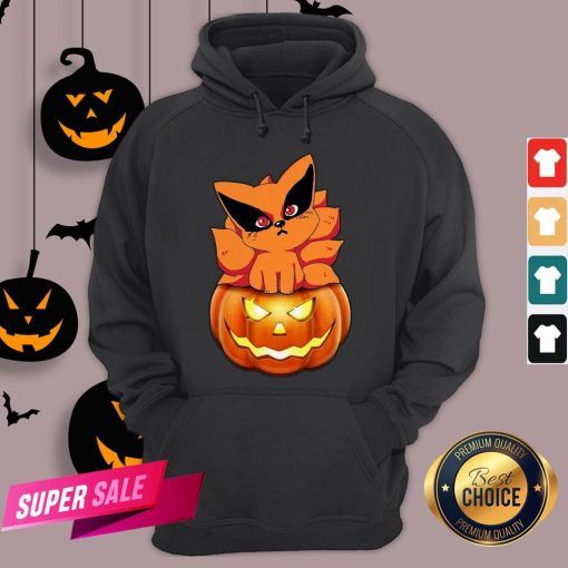 Chibi Kurama Naruto Pumpkin Halloween Hoodie