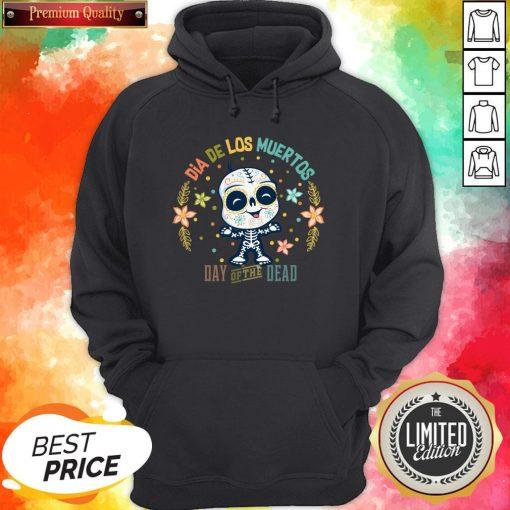 Dia De Los Muertos - Day Of The Dead Cute Sugar Skull Hoodie