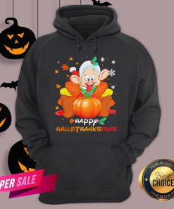 Dwarfs Sleepy Pumpkin Happy Hallothanksmas Hoodie