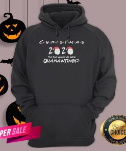 Funny Christmas 2020 The One Where We Were Quarantined Hoodie