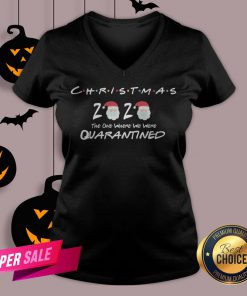 Funny Christmas 2020 The One Where We Were Quarantined Tank Top