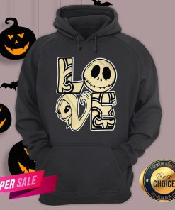 Love Jack Skellington And Sally Hoodie