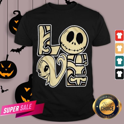 Love Jack Skellington And Sally Shirt