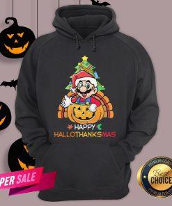 Mario Segale Happy Hallothanksmas Hoodie