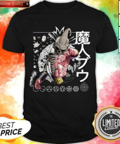 Nice Kid Buu Majin Skull Dragon Ball Bu Vegeta Goku Shirt