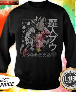 Nice Kid Buu Majin Skull Dragon Ball Bu Vegeta Goku Sweatshirt