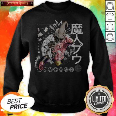 Nice Kid Buu Majin Skull Dragon Ball Bu Vegeta Goku Sweatshirt
