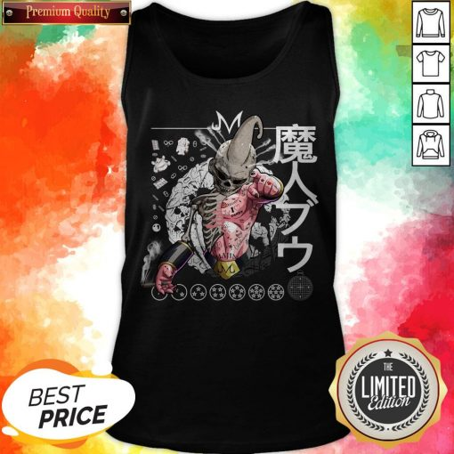 Nice Kid Buu Majin Skull Dragon Ball Bu Vegeta Goku Tank Top