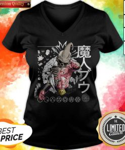 Nice Kid Buu Majin Skull Dragon Ball Bu Vegeta Goku V-neck