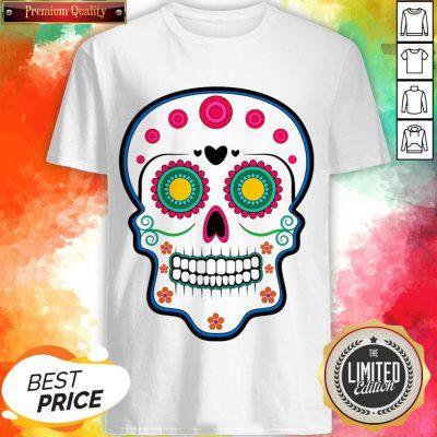 Official Sugar Skull Day Of Dead Dia De Los Muertos Shirt