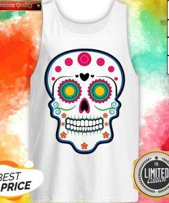 Official Sugar Skull Day Of Dead Dia De Los Muertos Tank Top