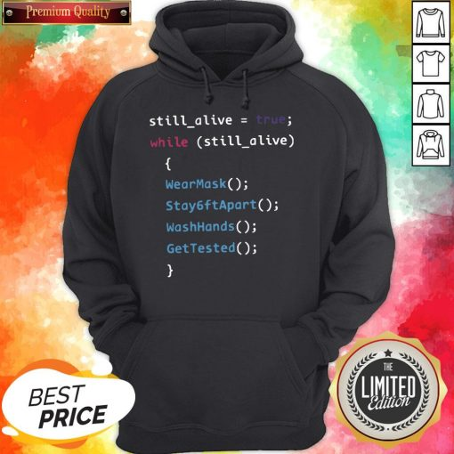 Programming Function Humor While Still Alive Hoodie