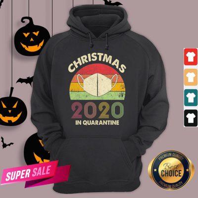 Quarantine Christmas 2020 Covid Hoodie