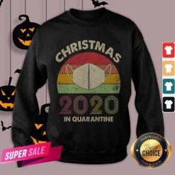 Quarantine Christmas 2020 Covid Sweatshirt