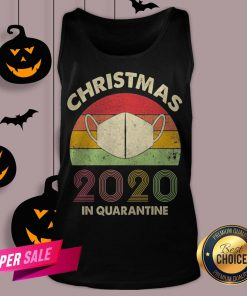 Quarantine Christmas 2020 Covid Tank Top