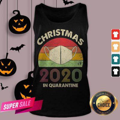 Quarantine Christmas 2020 Covid Tank Top