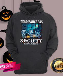 Skull Witch Dead Pancreas Society Diabetes Classic T-Hoodie