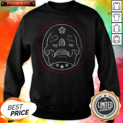 Sugar Gothic Skulls Day Of The Dead Sweatshirt