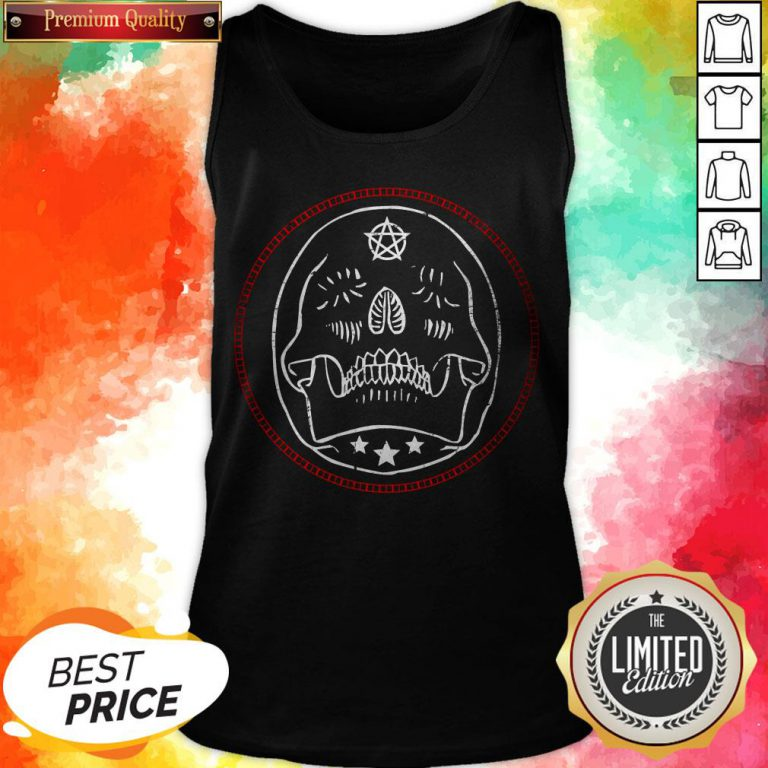 Sugar Gothic Skulls Day Of The Dead Tanh top
