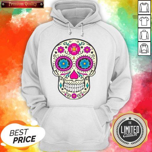 Sugar Skull Dead Dia De Los Muertos Hoodie