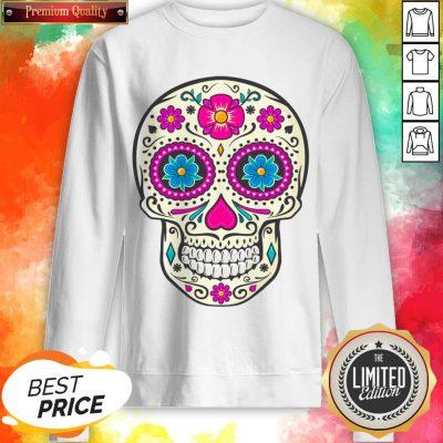 Sugar Skull Dead Dia De Los Muertos Sweatshirt