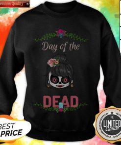 Sugar Skull Girl Day Of The Dead Sweatshirt