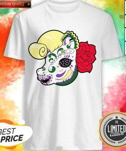 Sugar Skull Pony Day Of The Dead Dia De Muertos Shirt
