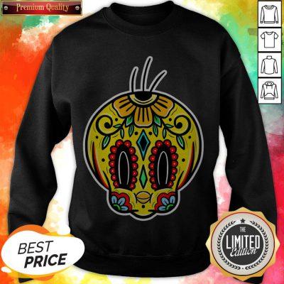 Sugar Skull Tweety Day Of The Dead Muertos Sweatshirt